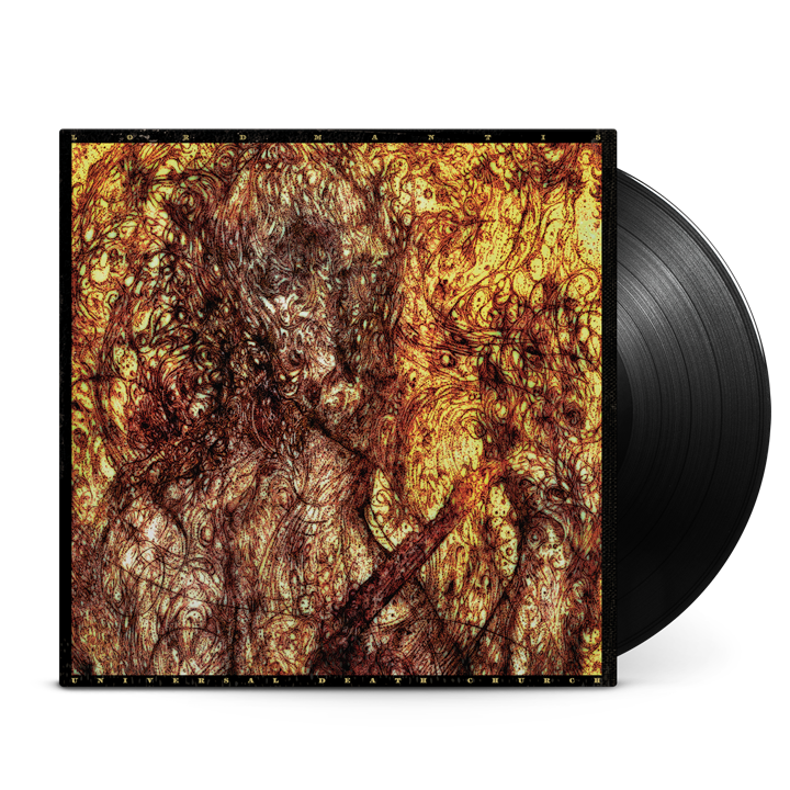 LORD MANTIS - Universal Death Church LP (Black)