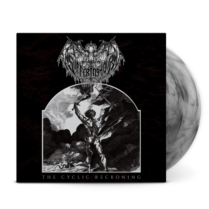 SUFFERING HOUR - The Cyclic Reckoning Galaxy Swirl Vinyl
