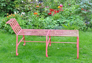 Handmade Bench - One sloping end