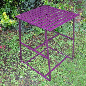 Handmade Tall Garden or Patio Table