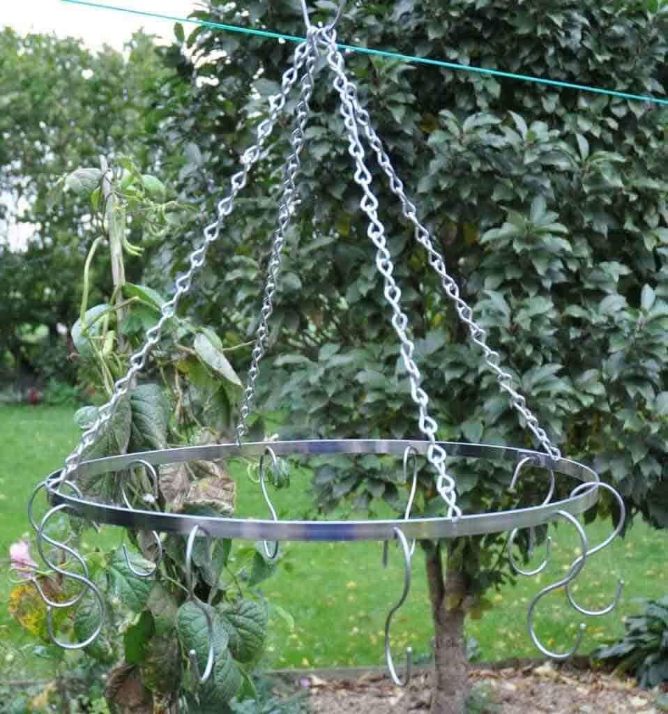 Industrial Style Herb Drier Hanging Chains Handmade in Lincolnshire