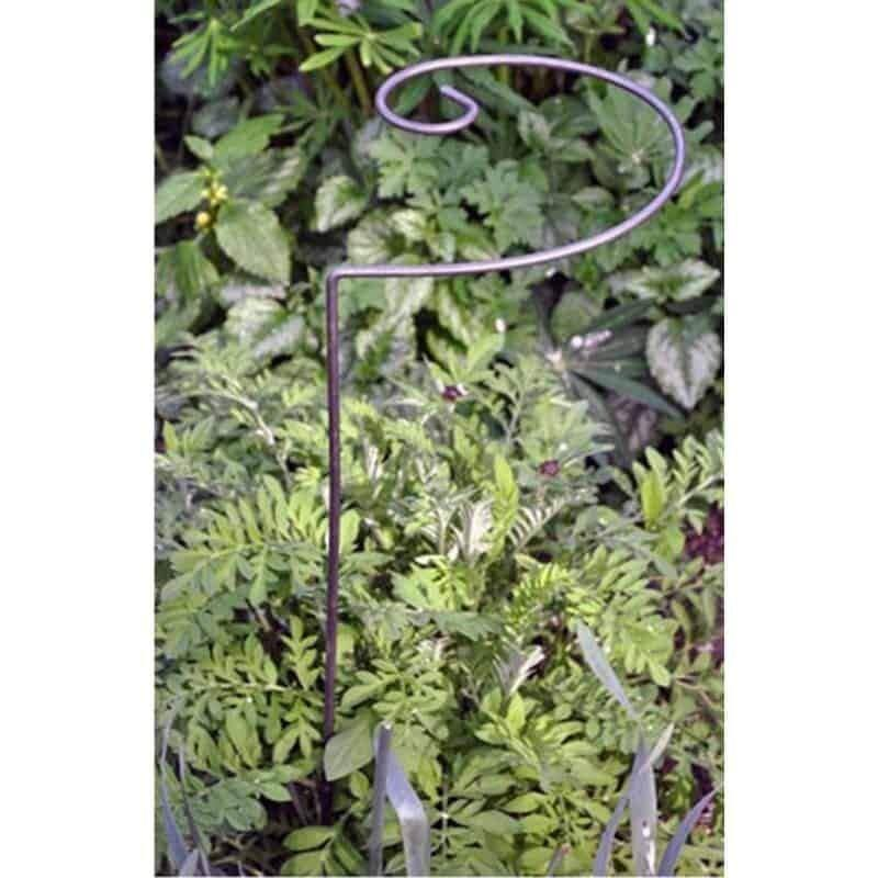 Value Pack .9 Large Spiral Plant Supports. Ready to Rust Style