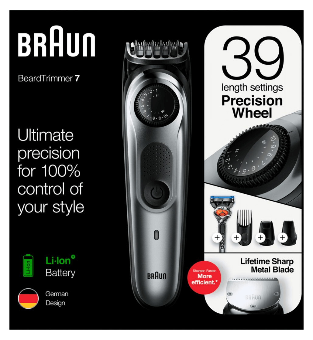 Braun Beard Trimmer BT7220 Men Beard Trimmer & Hair Clipper Nigeria