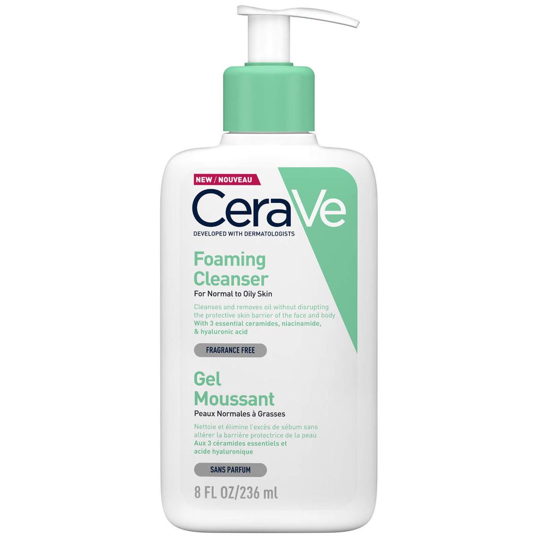 CeraVe Foaming Cleanser Normal to Oily Skin 236ml
