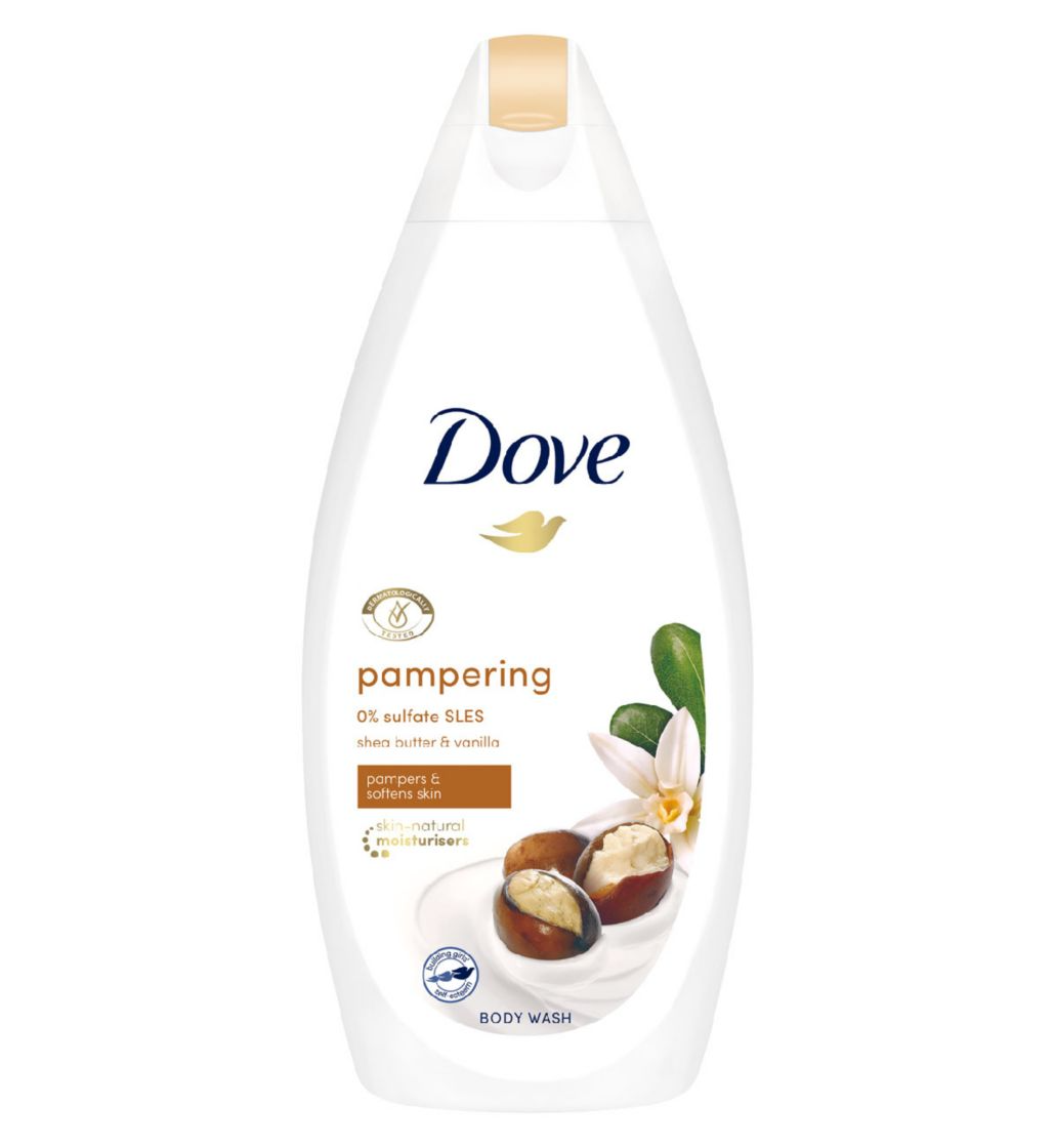 Dove Pampering Body Wash 450ml