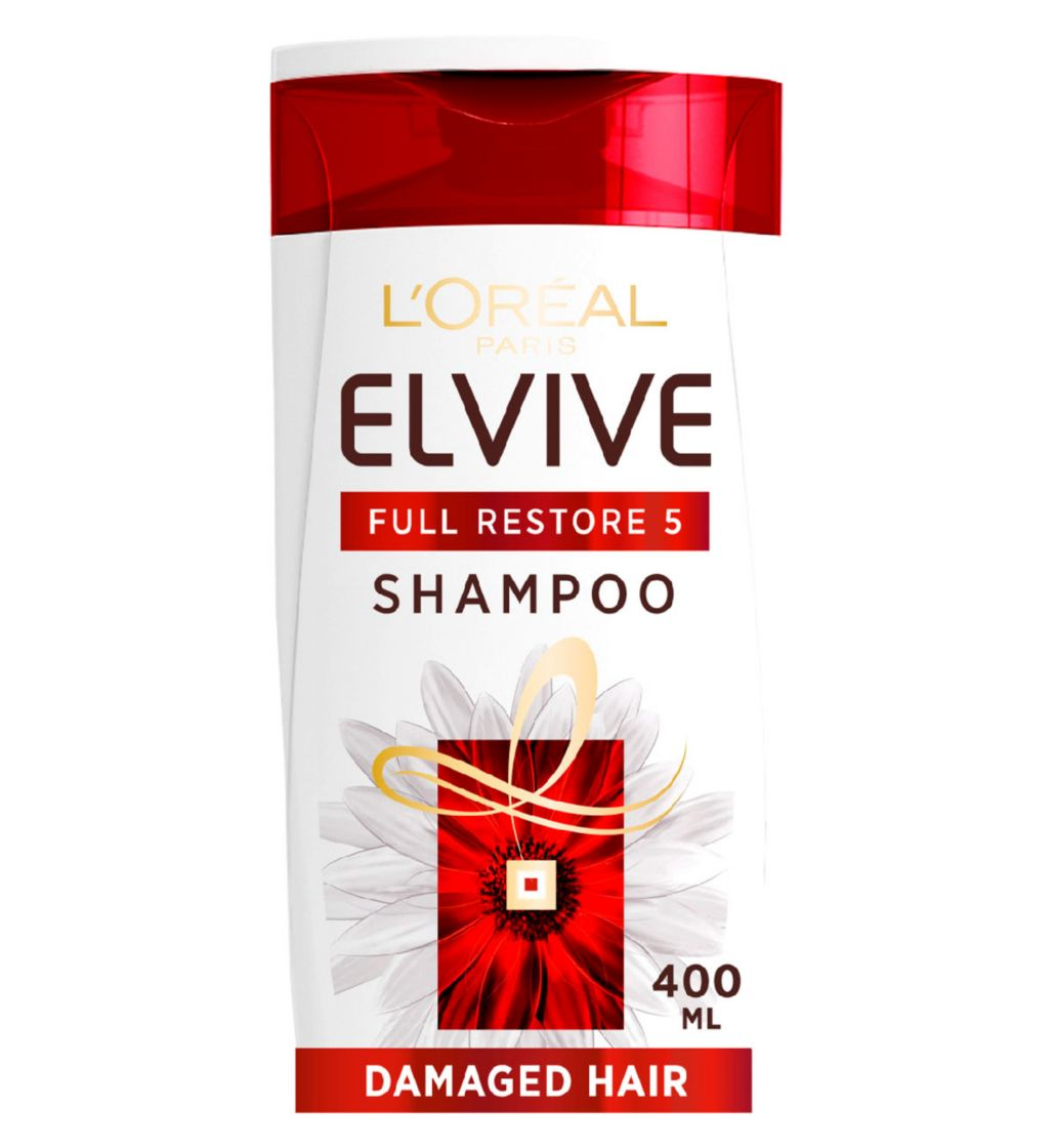 L'Oreal Elvive Full Restore 5 Damaged Hair Shampoo 400ml