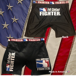 FULL CONTACT FIGHTER VALE TUDO SHORTS BLACK