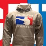 FCF NHB Hoodie Grey—With Double Sided Logos On Back! #1 Selling Sweatshirt