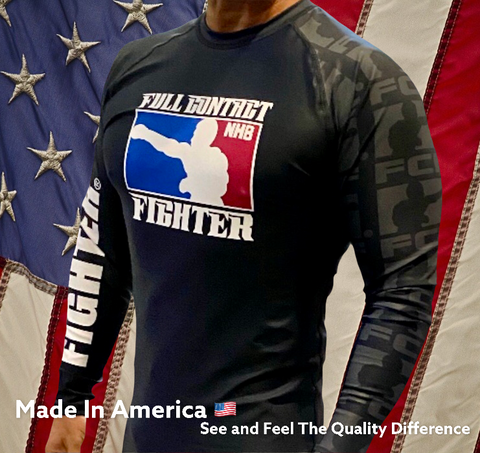 FCF Rash Guards - Black
