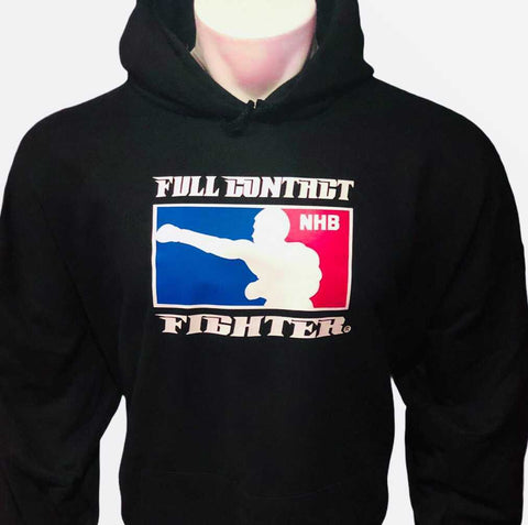 FCF NHB Hoodie Black—With Double Sided Logos On Back! #1 Selling Sweatshirt