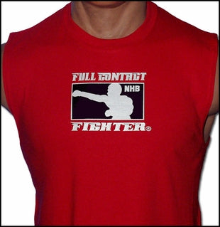 FCF NHB Sleeveless Tee - Red