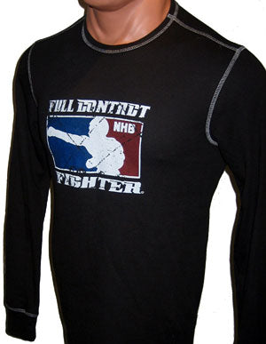 FCF NHB Vintage Logo Thermal - Black