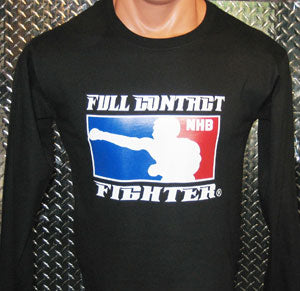 No Holds Barred Long Sleeve Shirt - Black