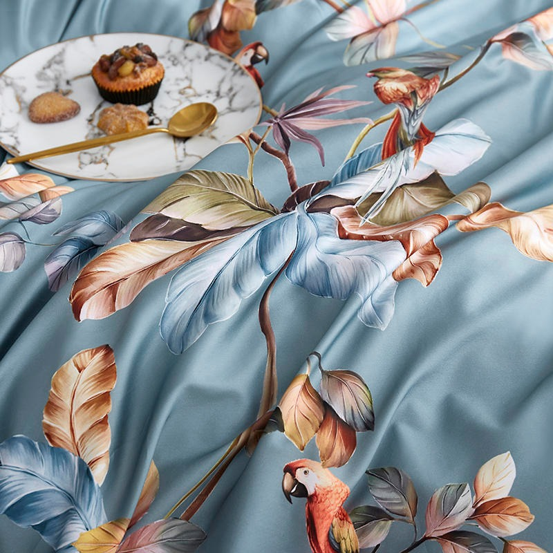 Tree of Parrots Bedding Set (Egyptian Cotton)