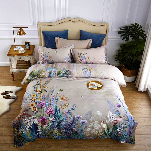 Colorful Nature Bedding Set (Egyptian Cotton)