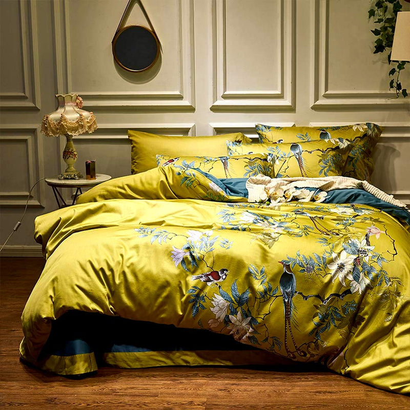 Cleopatra's Tree of Life Silky Bedding Set (Egyptian Cotton)
