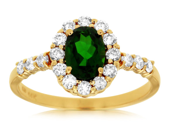 RUSSALITE & DIAMOND RING (3788CH)