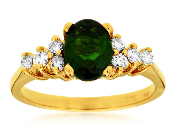 RUSSALITE & DIAMOND RING (3835CH)