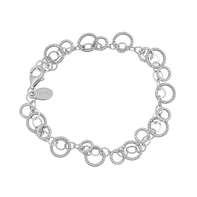 Stainless Steel Cha Cha Circle Bracelet