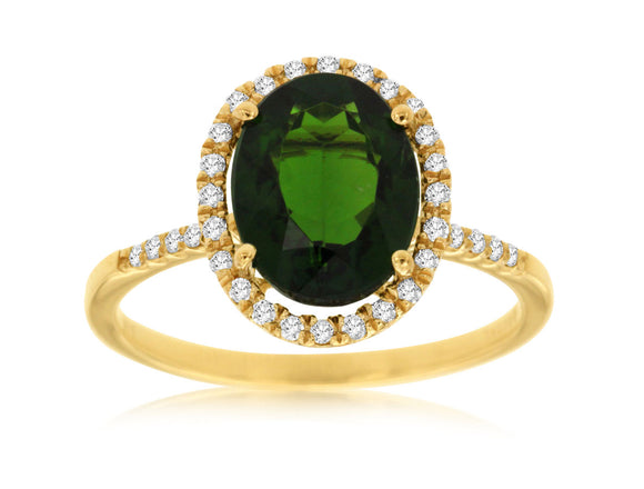 RUSSALITE & DIAMOND RING (C4522CH)