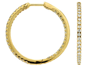 DIAMOND HOOPS (C6946D)