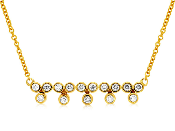 DIAMOND NECKLACE (C8010D)