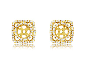 DIAMOND EARRING JACKETS (C8684D)