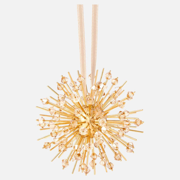 Icons of Light Hanging Ornament, Gold tone