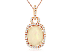 OPAL & DIAMOND PENDANT (PC3951F)