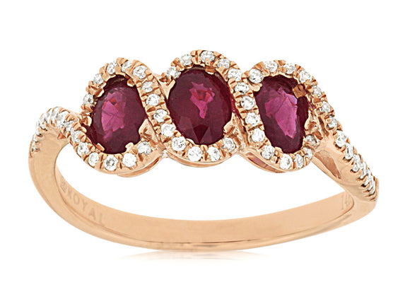 RUBY & DIAMOND RING (PC7349R)