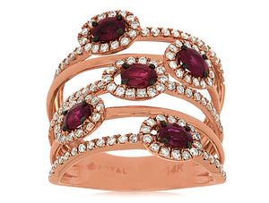 RUBY & DIAMOND RING (PC7350R)