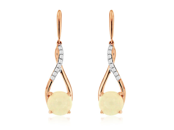 OPAL & DIAMOND EARRING (PC8062F)