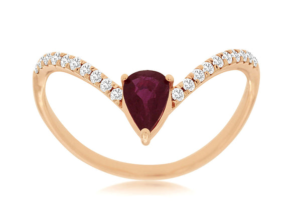 RUBY & DIAMOND RING (PC8068R)