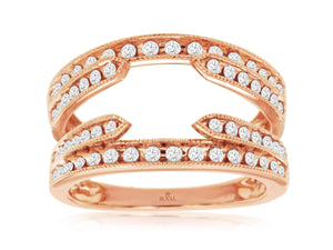 LADIES DIAMOND INSERT RING (PC9245D)