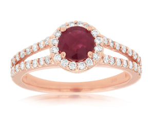 RUBY & DIAMOND RING (PR3888R)