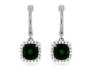RUSSALITE & DIAMOND EARRING (WC5131C)