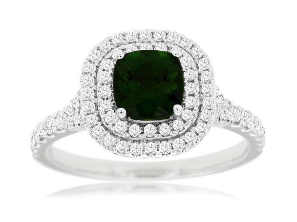 RUSSALITE & DIAMOND RING (WC7054C)