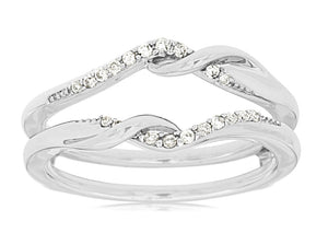 LADIES DIAMOND INSERT RING (WC7276D)