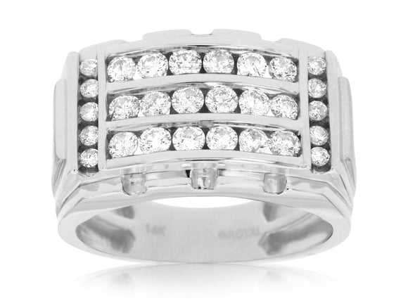 MEN'S DIAMOND RING (WC7831D)