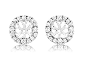 DIAMOND EARRING JACKETS (WC8785D)