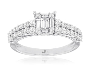 DIAMOND ENGAGEMENT RING (WC9562D)