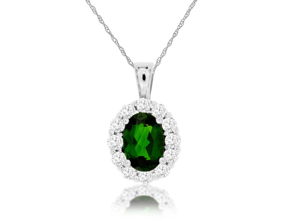 RUSSALITE & DIAMOND PENDANT (WP3788C)