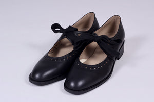 Early 30s inspired everyday shoes - Black - Anna
