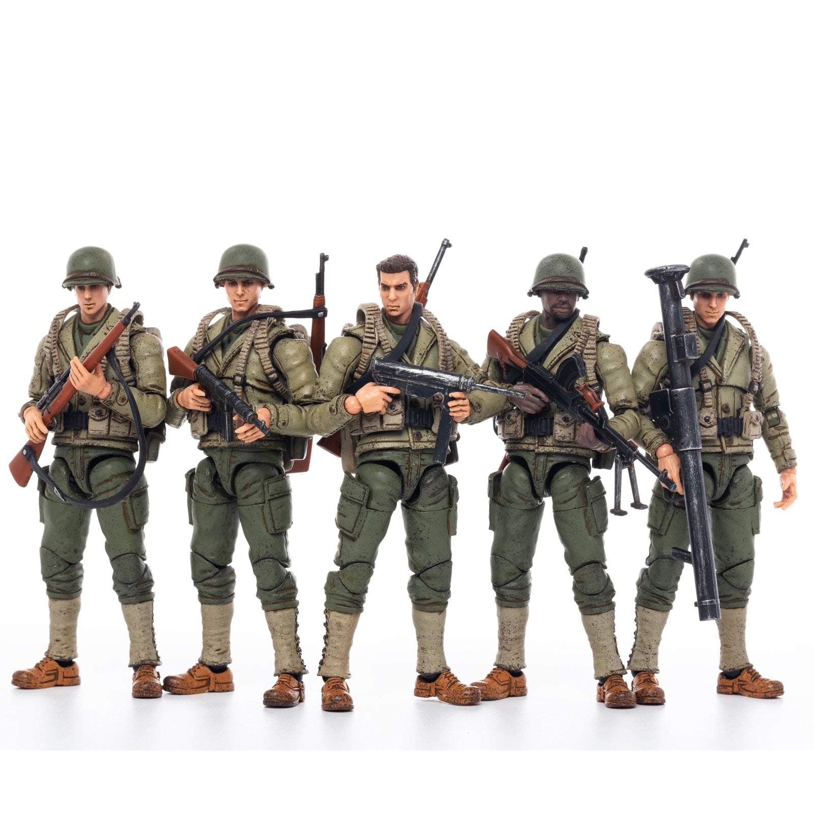 JoyToy 1//18 Action Figures 4-Inch 19st Legion United Soldier Figure PVC Military Model Collection Toys