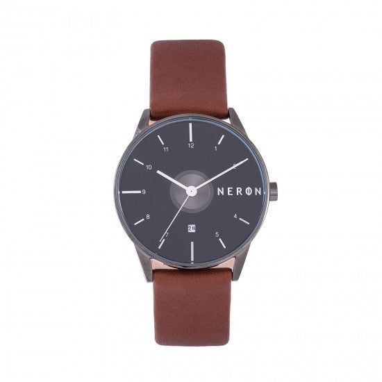Montre homme Hour vision marron homme