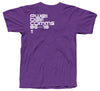 Purple Communications 'Skull' Tee