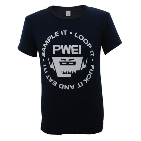 PWEI Sample It, Loop It Tee (Navy)
