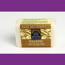 Dead Sea Minerals, Shea Butter and Argan Oil Soap, Natural, Skin Care, Beauty Bar