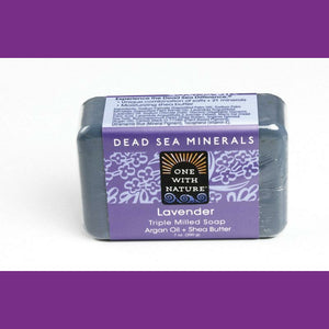 Dead Sea Spa Lavender and Argan Oil Soap, Aromatherapy, Natural Bath Bar, Beauty Bar, Natural Skin Care
