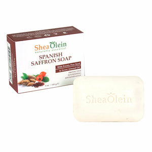 Spanish Saffron Soap, Heals Wounds, Fades Scars, Stimulates Collagen, Dry Skin, Acne, Face Scrub, Soap Bar, Skin Care, Natural Soap